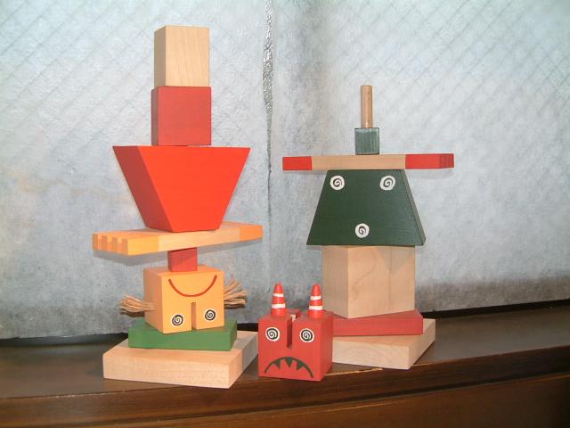 チェコの人形(並べ替え)