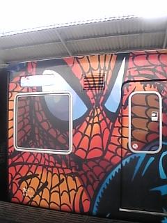 スパイダー電車