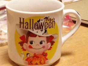 ペコちゃんプリン(栗かぼちゃ)ハロウィン限定