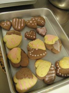 バレンタイン用クッキー
