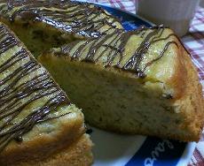 ちゅんのバナナケーキ