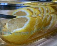 レモンの蜂蜜漬け