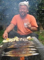 何故か秋刀魚