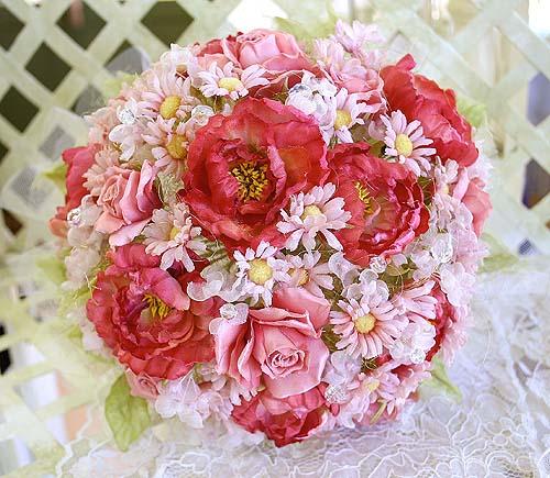 薔薇バラのウエデイングブーケ