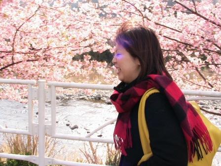 桜と桃ちゃん