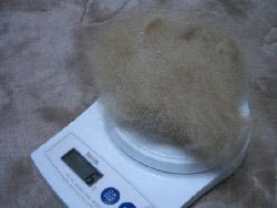 体重6g減!!