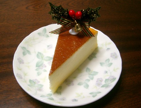 baked cheese cake ♪