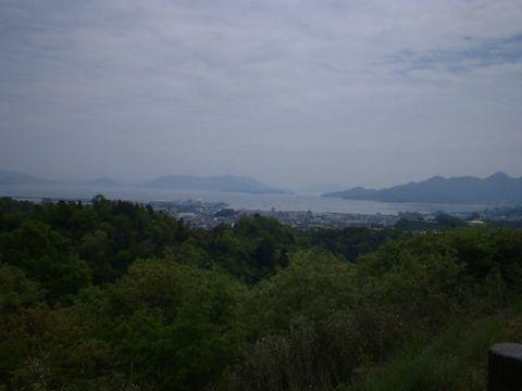 宮島SAからの風景