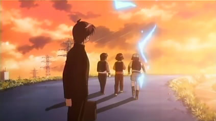 灼眼のシャナ 第2話 「灯る炎」
