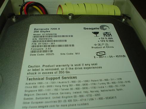 ST3250823A (250GB U100 7200)
