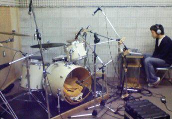 M氏とドラム