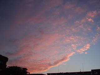 071020ピンクの雲
