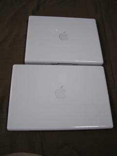 MacBookとiBook
