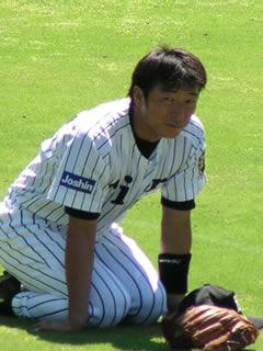 2004年9月15日の沖原さん@鳴尾浜球場