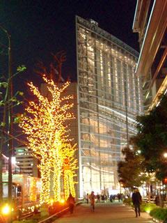 東京国際フォーラムイルミネーション