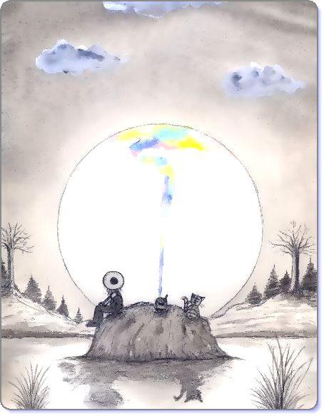 黒澤はるお ブログ童話館アートメルヘン ペディアと猫のペトロとの旅